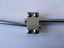 Зажим преломления штанги 10,3 градуса для заточки в линзу (8мм)