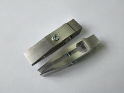 Губки усиленные для зажима ножей со спусками от обуха (3 градуса)