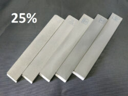 Набор из 5 (пяти) односторонних алмазных бланков ВЕАЛ (от 60 до 2000GRIT 25%)