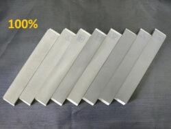 Набор из 8 (восьми) односторонних алмазных бланков ВЕАЛ (от 60 до 18 000 GRIT 100%)