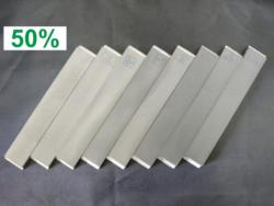 Набор из 8 (восьми) односторонних алмазных бланков ВЕАЛ (от 60 до 18 000 GRIT 50%)