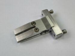 Губка центральная усиленная (30мм) для ножей со спусками от обуха двойной зажим (10 градусов)